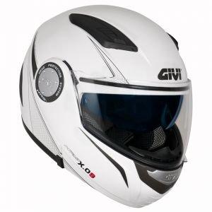 Givi HX09BB91054 Hps Hx09 Modular Casco Modular, Color Blanco, Talla 54/XS