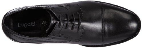 Bugatti U71061 Herren Derby Schnürhalbschuhe Schwarz (schwarz 100)