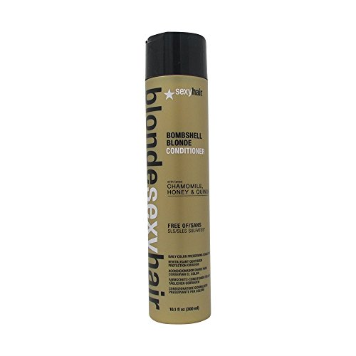 sexyhair Bombshell Blonde Conditioner, 1er Pack (1 x 300 ml) (Honig-haar-conditioner)