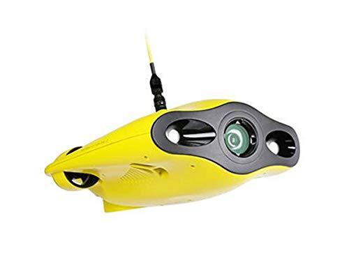 YAOHM Mini-Drone sous-Marin Miniature à Cinq Roues motrices Drone de plongée avec Profondeur de la caméra 4K 100M