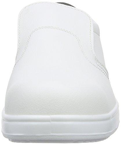 Portwest FW81 Scarpe Antinfortunistiche da Uomo, Colore Nero (Black), Taglia  43 EU (9 UK) Bianco (White)