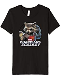 Kinder Marvel Guardians of the Galaxy Rocket Circle Kids T-Shirt