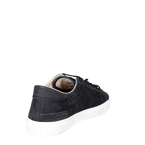 Última Venta En Línea Sneaker D.A.T.E. Newman in pelle nera Nero El Envío Libre 100% Auténtico CyvZz