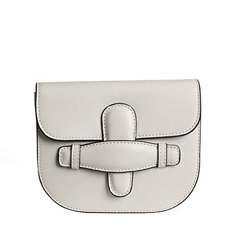 Yoome Damen Mini-Umhängetasche, echtes Leder, Vintage-Stil, Umhängetasche (Designer-handtaschen Clearance)