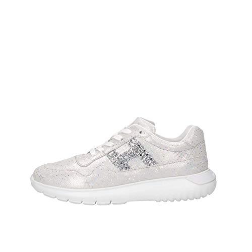 Hogan Junior HXC3710AP30KIIB200 Sneakers Bambina Argento 35
