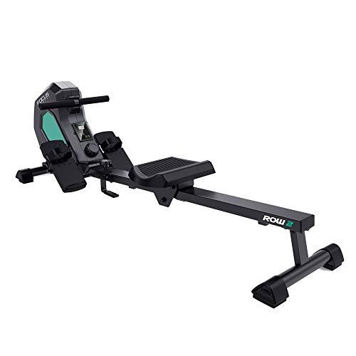 Focus Fitness Rudergeräte Row 2 - Klapbarr - 8 Widerstandsniveaus - 7 KG Schwungrad - Ruderzugmaschine
