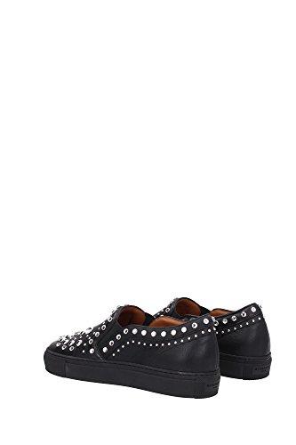 BE08155195001 Givenchy Pantoufle Femme Cuir Noir Noir