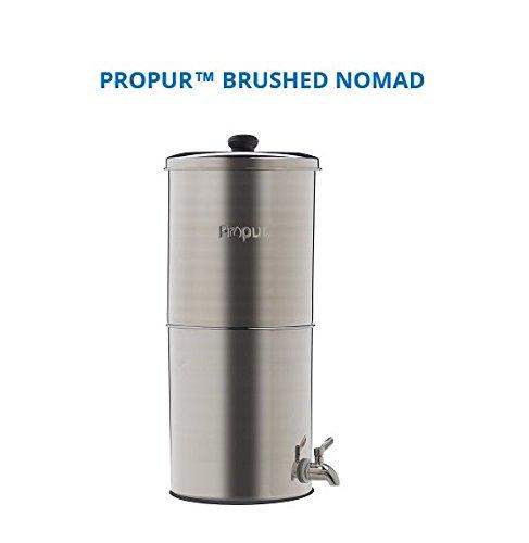 Preisvergleich Produktbild Propur 304 gebürstet Nomad mit 2 12, 7 cm Filter
