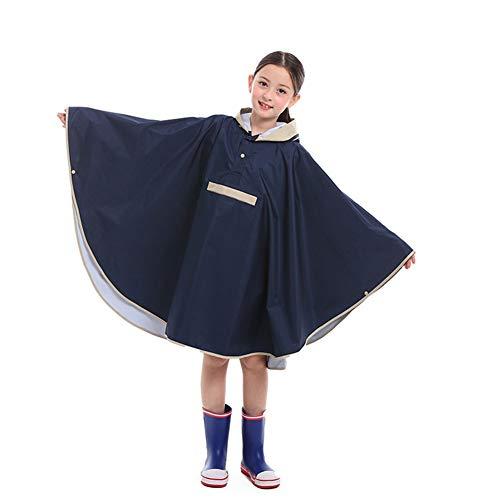 WYUKUAN-poncho impermeable Chubasquero Niño Diseño