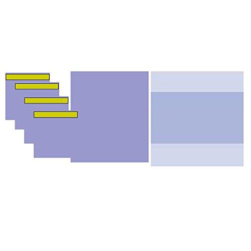 20x Medidrapes Viertuch-Basis-Set, chirurgische Eingriffe, 6 Teile, OP-Tücher