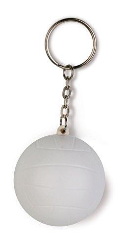 STOCK LOTTO 50 PEZZI Originale portachiavi antistress anti stress a forma di palla da beach volley pallavolo
