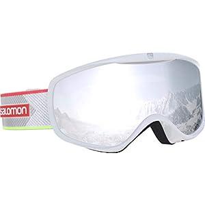 Salomon Damen Sense Skibrille, geeignet für Brillenträgerinnen, verschiedenste Wetterverhältnisse, Airflow System