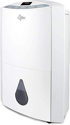 Suntec Wellness 13072 Suntec Luftentfeuchter 20L - DryFix 20, plastic, Silber, Weiß