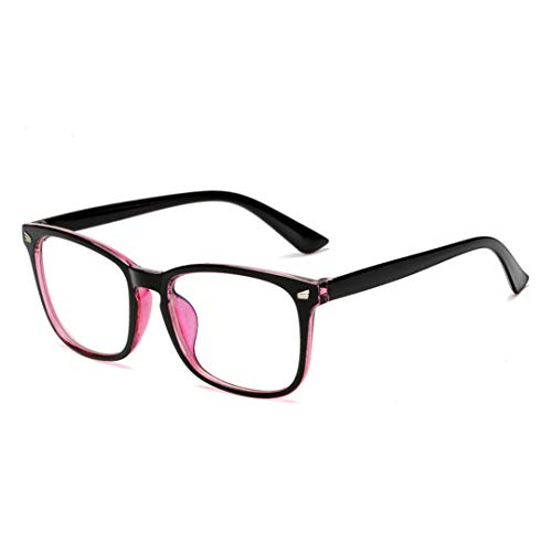 1 Pc Fashion Women Men Transparent Computer Glasses Spectacle Frame Anti Blue Ray Clear Lens Eyeglasses Purple