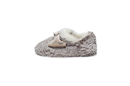 Pretty You London , Chaussons pour femme One Size Oatmeal