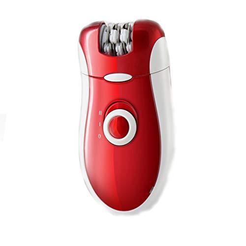 3-in-1-Epilierer für nasse und trockene Frauen Epilierer Damen Elektrorasierer Peeling- und Hautpflegesystem Home Haarentfernungssystem für dauerhafte Haarentfernung