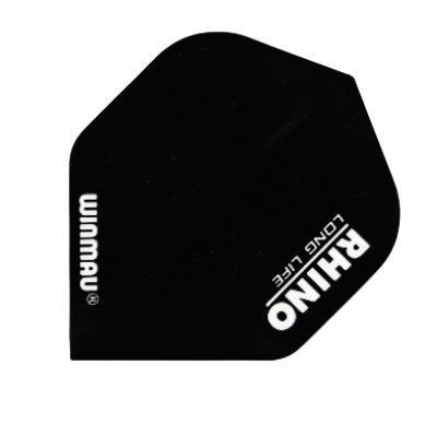 WINMAU Dart-Fly Rhino, Standard, Ausführung in schwarz. Der Preis Gilt per Set (3 St.) Die einfarbigen Flys in Rhino-Qualität sind bei Profispielern