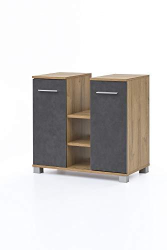 Collection 2 Tür-unterschrank (Beauty.Scouts Möbel Collection Semper Waschtischunterschrank Judy 8