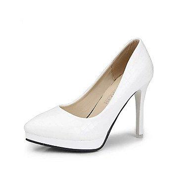 WSX&PLM Da donna-Tacchi-Casual-Comoda-A stiletto-PU (Poliuretano)-Nero / Rosso / Bianco white