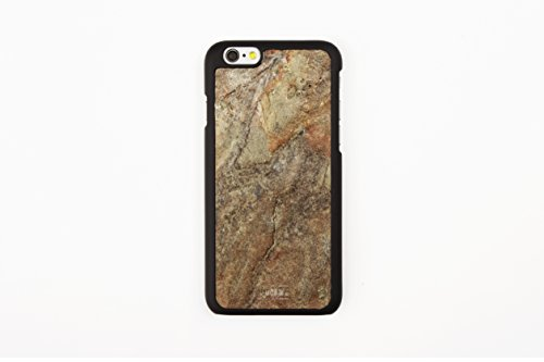 WoodWe Natural Stone Protective Handmade Case / Cover | For Iphone 6 / 6s | Authentic & Stylish | Ethically Sourced | ARKOBALENTO CALORE Burning Forest