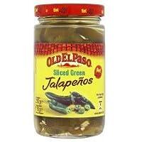 Old El Paso - Sliced Green Jalapeños - 215g