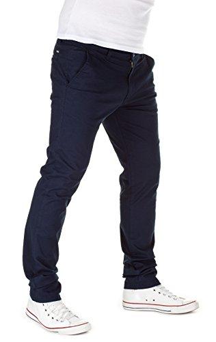 Yazubi Homme élégant pantalon chino Dustin navy (3001)