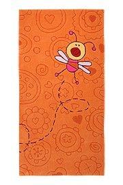 """Preisvergleich Produktbild Sigikid Marken Kinder Teppich, kuschelig und hochwertig mit süßen Bienen, """"Happy Zoo Summ-Summ"""" (90 x 160 cm)"""
