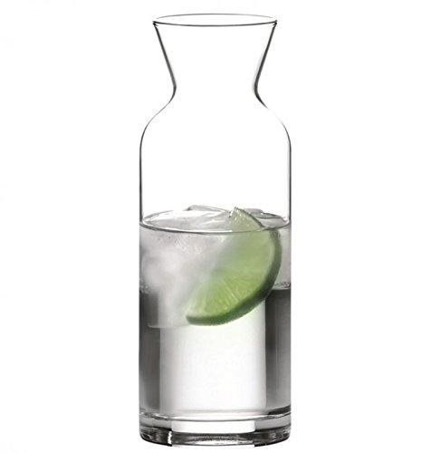 Pasabahce 43804–caraffa in vetro, 350ml, con segno di riempimento a 0,25l, per acqua vino succhi latte, altezza 17,2cm–gastronomia.