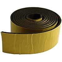 GleitGut GmbH 1Metro Cinta Adhesivo de Fieltro marrón Oscuro/Negro, Ancho: 50mm, para Muebles y más