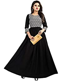 fcf744a3e757f Crepe Women s Ethnic Gowns  Buy Crepe Women s Ethnic Gowns online at ...