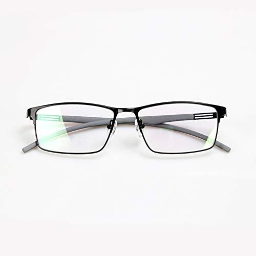 HQMGLASSES Intelligente Zoom-Multifokus-Lesebrille, Männer Licht im Freien Farbwechsel UV-Schutz Sonnenbrille HD-Objektiv Anti-Blaulicht Ultraleicht TR90 Brille Beine Lupe +1.0 bis +3.0,Black,+1.0 (Innenraum-nacht-licht Freien Im)