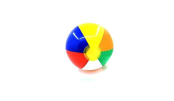 Ogquaton Ballon gonflable 23cm color/é ballon de plage piscine jeu de vacances vacances /ét/é enfants jouet jouets pour tous les /âges une couleur /él/égant et populaire