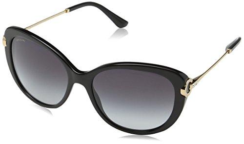 Bulgari Damen 0BV8194B 501/8G 57 Sonnenbrille, Schwarz (Black/Gradient)