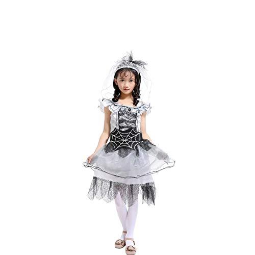 Lee Little Angel Spider Fairy Girls Kostüme Masquerade Performance Cosplay (140, ()