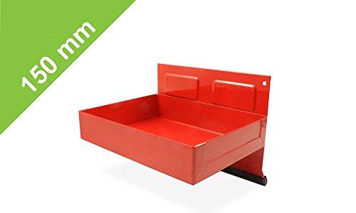 Magnetischer Hängebox in Rot - 150mm