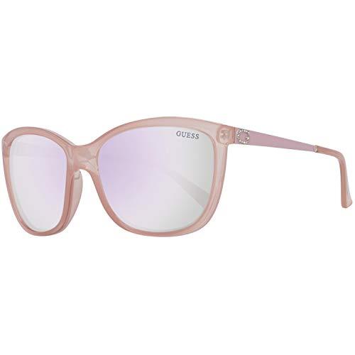 Guess Damen Gu7444 72C 58 Sonnenbrille, Koralle,
