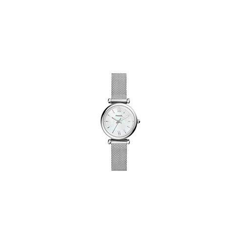 Fossil Damen Analog Quarz Uhr mit Edelstahl Armband ES4432 (Fossil Armbanduhr Edelstahl Frauen)