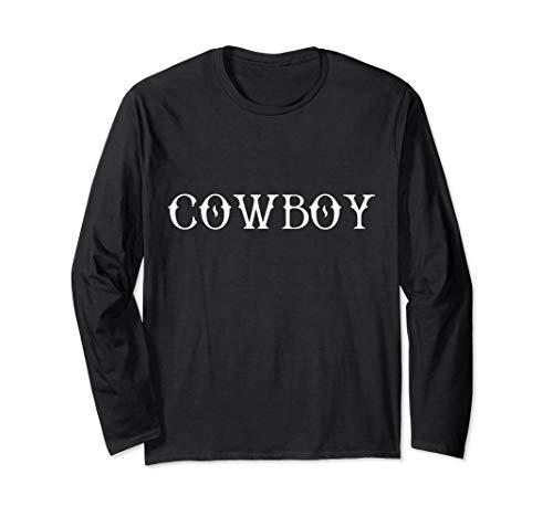 Kostüm Country Lustige Western - Cowboy Country Western Lazy Halloween Kostüm lustig Langarmshirt