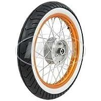 VORNE 1,5x16 Zoll RADNABE: Graugussbremsring mit Heidenau-Reifen K42 montiert SIMSON-Komplettrad GG , abgedrehte Flanken ALUFELGE gl/änzend