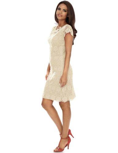 Ashley Brooke -  Vestito  - Donna Crema