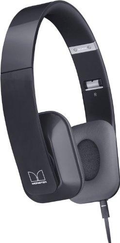 Nokia WH-930 Purity HD Wired On-Ear Stereo Kopfhörer von Monster (3,5 mm Klinkenstecker, Leicht, komfortables, zusammenklappbar, geeignet für iPod, iPhone, Smartphone und MP3 Player) schwarz