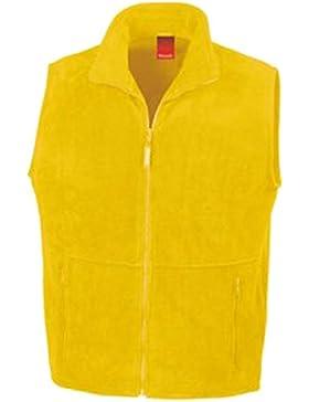 Result–Chaqueta de forro polar Active chaleco, unisex, color Amarillo - amarillo, tamaño XXL