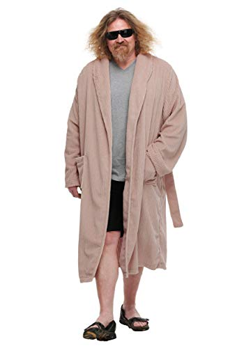 Big Lebowski Dude Kostüm - The Big Lebowski The Dude Bathrobe