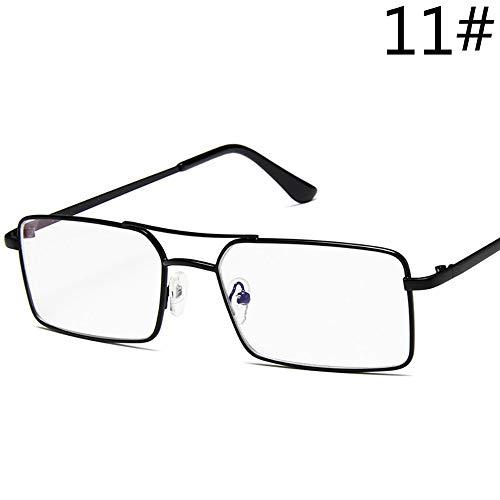 Sonnenbrille Frauen Sonnenbrille Square Full Frame Sun Schwarz Transparent Gläser Männer Wenig Rote Linse Sommer Unisex Brille Legierung Oculos