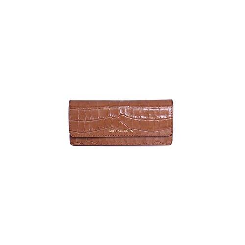 63172abb4892 Michael Kors Money Pieces Crocodile-embossed Leather - Flat Wallet - Acorn  - 32F7GF6F2E-532 - Buy Online in Oman.
