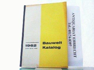Bauwelt Katalog...