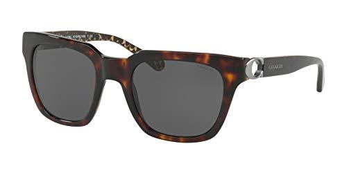 Coach - Damen Hc8240 52 L1028 Sonnenbrille, 52 mm Damen