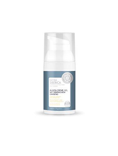Natura Siberica Augen-Crème-Gel mit sibirischem Ginseng, 1er Pack (1 x 30 ml)