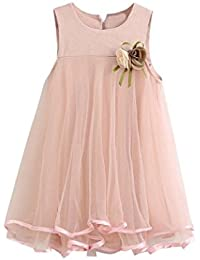 vestido de niña, K-youth® vestido de princesa vestido de fiesta de cumpleaños de la boda del desfile de la muchacha de la manera o vestido de dama de honor