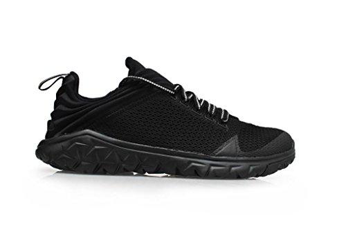 Nike Air Jordan Flight morbide Sportivo Scarpe da Ginnastica da Uomo 654268 Scarpe da Tennis - Nero Nero Nero 005, 8 UK/42.5 EU/9 US